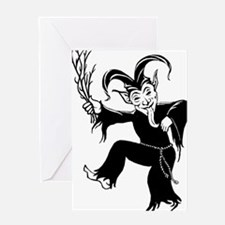 krampustransp Greeting Card