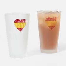 Rafa Faded Flag -dk Drinking Glass