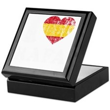 Rafa Faded Flag -dk Keepsake Box