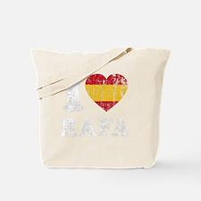 Rafa Faded Flag -dk Tote Bag