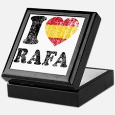 Rafa Faded Flag Keepsake Box