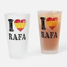 Rafa Faded Flag Drinking Glass
