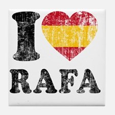 Rafa Faded Flag Tile Coaster