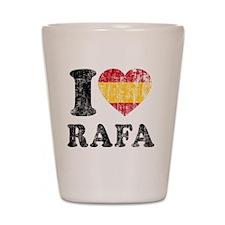 Rafa Faded Flag Shot Glass