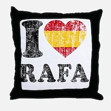 Rafa Faded Flag Throw Pillow