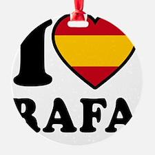 Rafa Flag Btn1 Ornament
