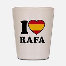 Rafa Flag Btn1 Shot Glass