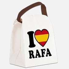 Rafa Flag Btn1 Canvas Lunch Bag
