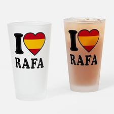 Rafa Flag Btn1 Drinking Glass