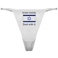 israelexists1 Classic Thong