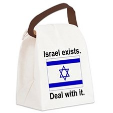 israelexists1 Canvas Lunch Bag