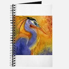 Gold Light Heron Journal