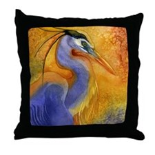Cool Shorebird Throw Pillow