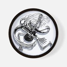skel-guit-3-2-LTT Wall Clock