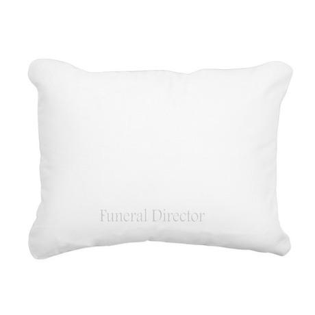 do my hands smell embalm Rectangular Canvas Pillow