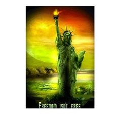 FREEDOM ISNT FREE Postcards (Package of 8)
