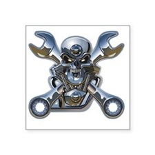 "Motorhead Square Sticker 3"" x 3"""