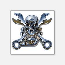"Motorhead Square Sticker 3"" x 3"""