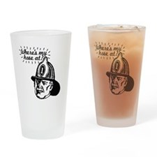firemansave01 Drinking Glass