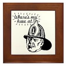 firemansave01 Framed Tile