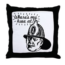 firemansave01 Throw Pillow