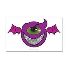 PurplePeopleEaters Car Magnet 20 x 12