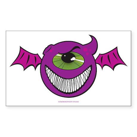 PurplePeopleEaters Sticker (Rectangle)