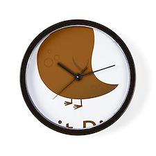 ShitBird Wall Clock