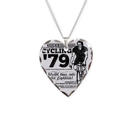 cycling01new Necklace Heart Charm