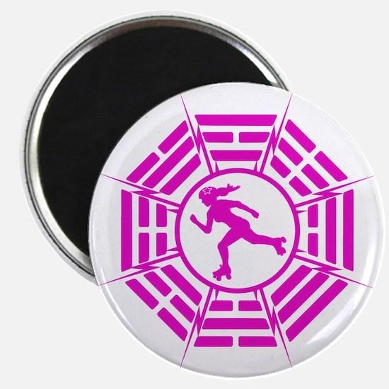 DHARMA_DERBY_GIRL r Magnet