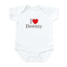 """I Love Downey"" Infant Bodysuit"