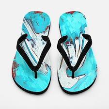 WhiteCrow Flip Flops