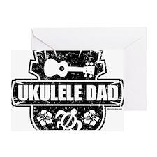 Ukulele Dad Greeting Card