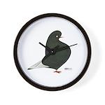 Black Flight Wall Clock
