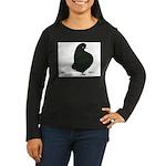 Black Flight Women's Long Sleeve Dark T-Shirt
