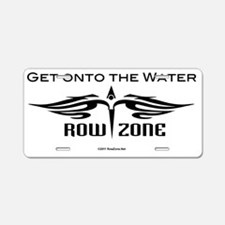 rz_logo_black Aluminum License Plate