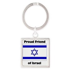 proudfriend Square Keychain