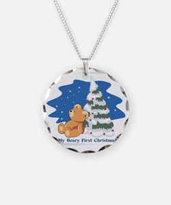 My_Beary_First_Christmas Necklace