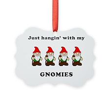 my gnomies Ornament