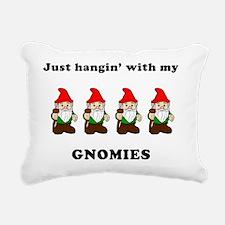 my gnomies Rectangular Canvas Pillow