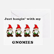 my gnomies Greeting Card