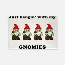 my gnomies Rectangle Magnet
