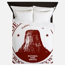 Devils Tower W Queen Duvet