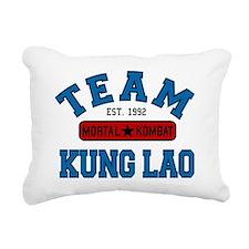 mortal-kombat-team-kung- Rectangular Canvas Pillow
