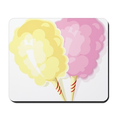 cotton candy Mousepad