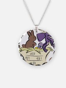 Easter basket Necklace