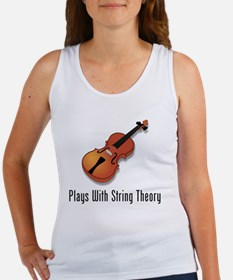 Plays With String Theory 3 Women's Tank Top