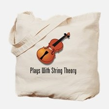 Plays With String Theory 3 Tote Bag