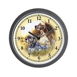 English setter Wall Clocks