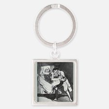 PHYSICAL THERAPAPY - TLC STAR Square Keychain